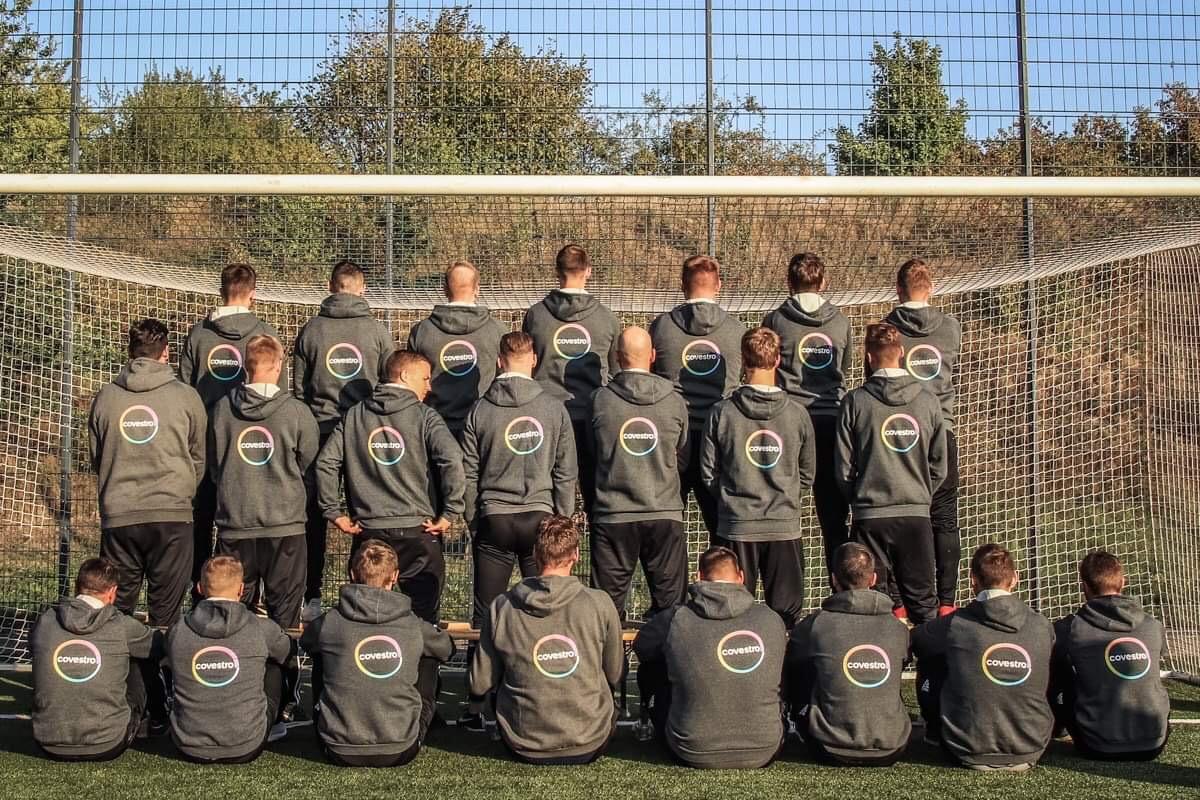 Fussball Mannschaft Reusrath